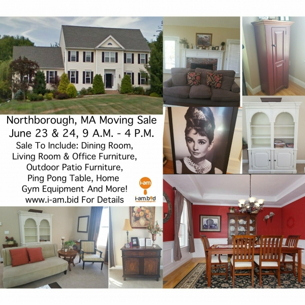 Northborogh MA Moving Sale