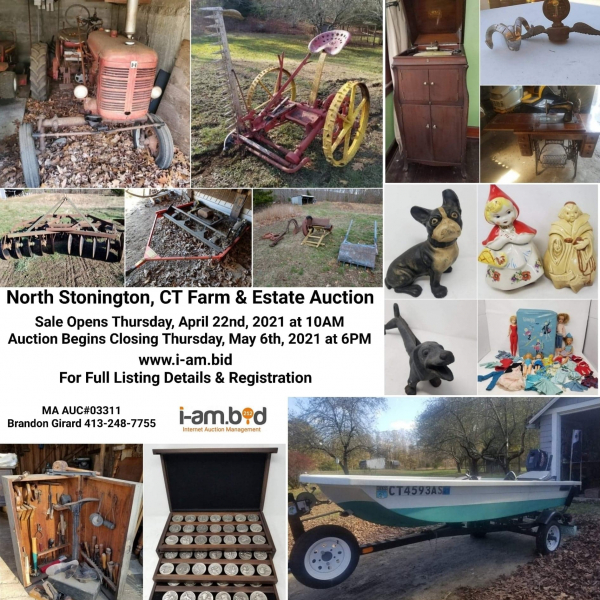 North Stonington, CT Farm & Estate Auction