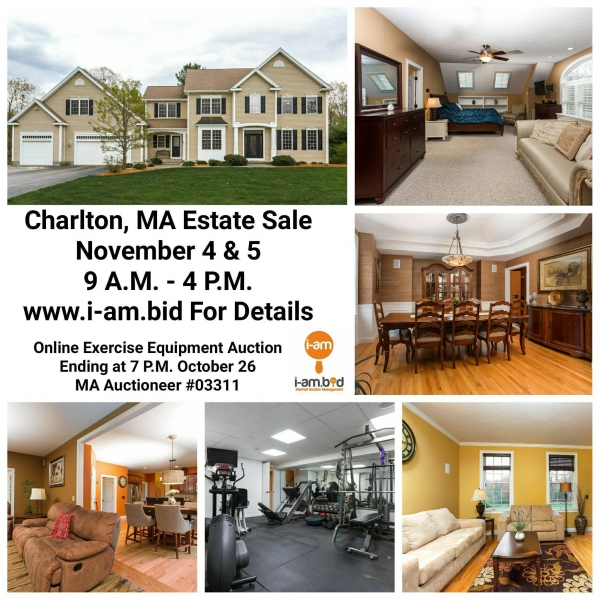 Charlton MA Estate Sale