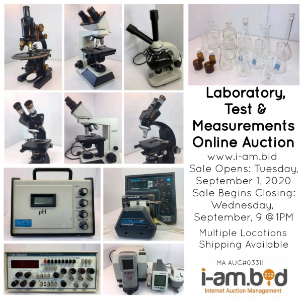 Multiple Location Laboratory and Test & Measurement Auction